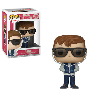Figurine Funko Pop! Movies Baby Driver 594 Baby 10cm