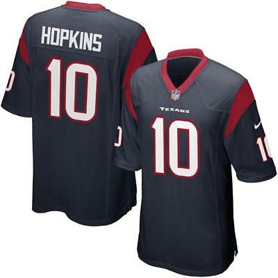 DeAndre Hopkins Men's Game Navy Jersey