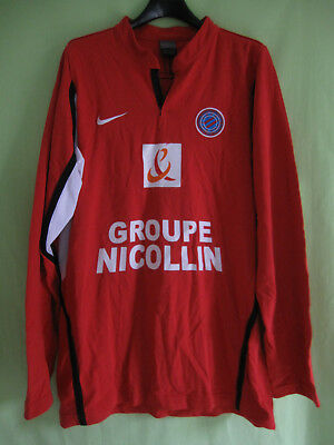 Maillot Rugby ASBH AS Béziers Hérault Groupe Nicolin Vintage Nike - L