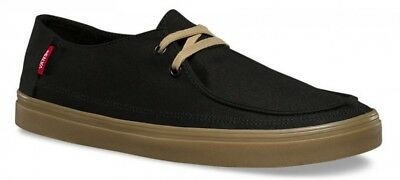 10663db75600 VANS RATA VULC SF Black Gum Slip On Skate Shoes Men s Size 8 or 9 ...