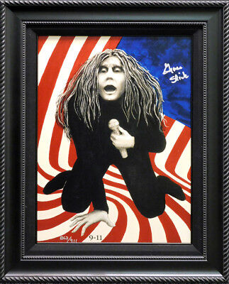 """Grace Slick """"911"""" Giclee on canvas Hand Signed  Make an Offer"""