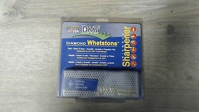 """DMT 6"""" Long x 2"""" Wide x 3/4"""" Thick, Diamond Sharpening Stone Rectangle, 325 G..."""