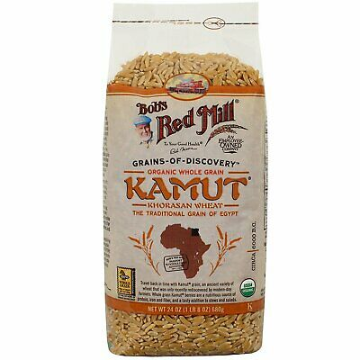 Bob's Red Mill, Organic Whole Grain Kamut, 24 oz pack of 2