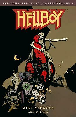Hellboy: the Complete Short Stories Volume 1 by Mike Mignola Paperback Book Free