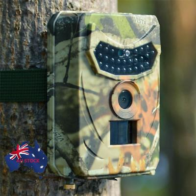 Trail Camera 12MP 1080P Wildlife Waterproof Hunting Camera Security Game Cam