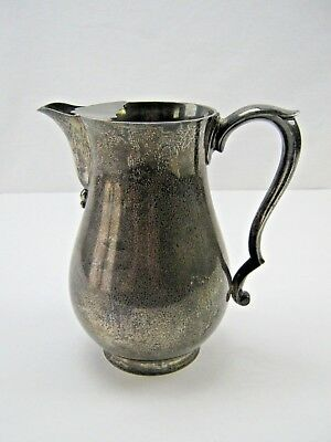 1955 Sterling Silver Edward Barnard & Sons / James Robinson Pitcher 994 grams