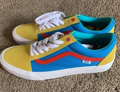 7c62239946c6 VANS X GOLF Wang Old Skool Pro sz 12 100% Authentic And New Yellow ...