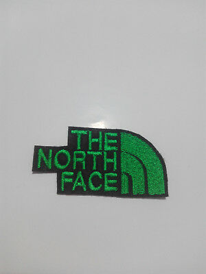 Parche bordado para coser estilo The north face 7/3,5 cm adorno ropa artesania