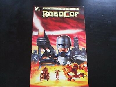 Robo Cop Adaptation From The Movie Paperback From Marvel