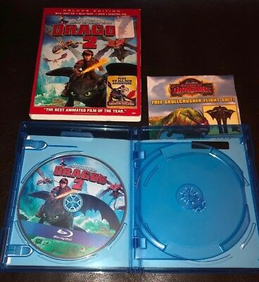 How to Train Your Dragon 2 (Blu-ray-Disc) Original Case w/ Slipcover