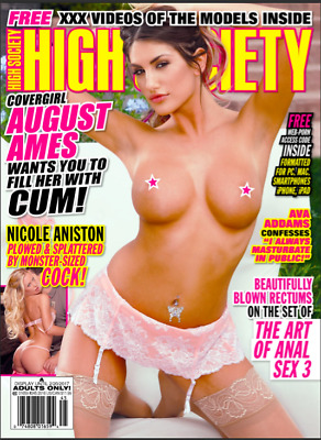 High Society #245 2016 Magazine  –   August Ames (see description)