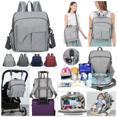 Mummy Nappy Bag Large Capacity Travel Backpack Outdoor Baby Maternity Diaper Bag
