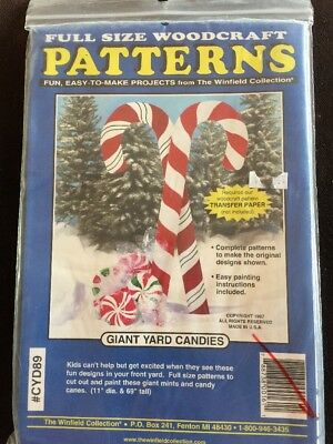 Woodcraft Pattern From Winfield Christmas Collection Yard Decoration