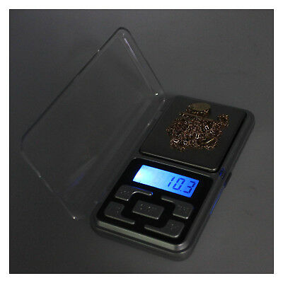 500g * 0.1g LCD Digital Electronic Pocket Gram Jewelry Herb Weight Balance Scale