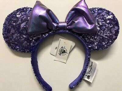 Disney Parks DISNEYLAND PURPLE POTION Minnie Ears Headband NEW! IN HAND