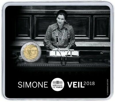 2 Euro commémorative de France 2018 (Brillant Universel) - Simone Veil
