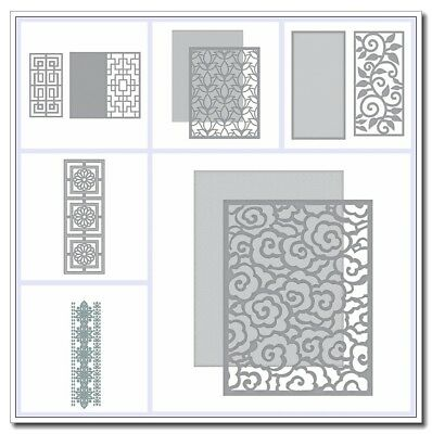 Framework Backdrop Cutting dies Stencil Scrapbooking dies Embossing Handcrafts