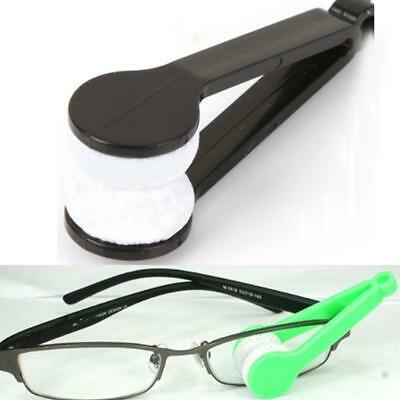 Portable 2pcs Dedicated Glasses Rub Cleaner Super Fine Fiber Convenience