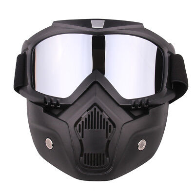 Tactical Mask Goggle Eyeglass Protective Face Mask for Nerf CS Outdoor Game