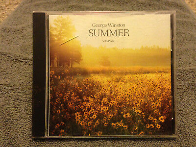 George Winston Summer Solo Piano 15 Tracks CD 91 Windham Hall Playgraded