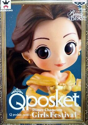 Q posket petit Disney Characters Belle / Beauty and the Beast / 100% Authentic!!