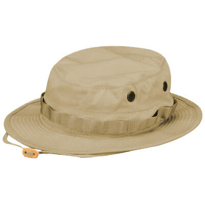 25466bfa89460 Propper Boonie Chapeau Homme Coton Jungle Seau Bush Safari Chasse Large Kaki