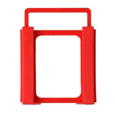 AU 2.5in to 3.5in SSD HDD Notebook Hard Disk Drive Plastic Adapter Mount Holder
