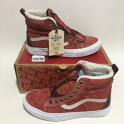 6ba12ee22cf Vans SK8-Hi SK8 Hi MTE Hot Sauce Port Royale Shoes Mens 4 - Women