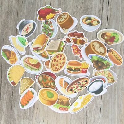 Hot Cute Emotion Delicious Food Stickers Scrapbooking Notebook DIY for Girl Lady