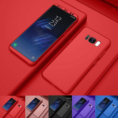 For Samsung Galaxy S8/S8 Plus 360° Shockproof Protective Case + Screen Protector