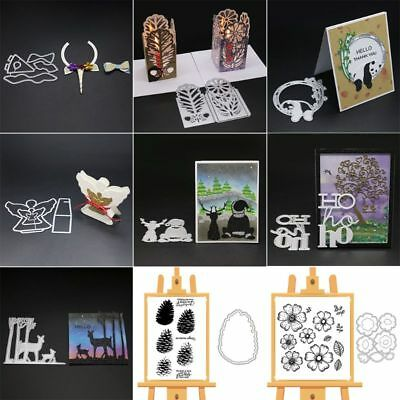 DIY Metal Cutting Dies Stencil Scrapbooking Album Stamp Paper Card Embossing