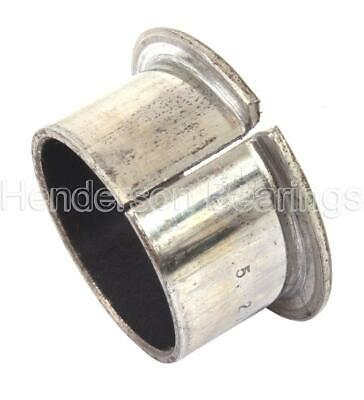 FMB1417DU, PAF14170P10 Split Flanged Bearing Bush PTFE Lined 14x16x17mm