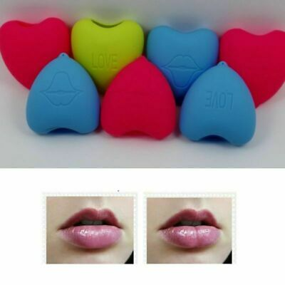 Lips Plumper Tool Suction Cupping Cups Silicone Lip Pump Heart Shape