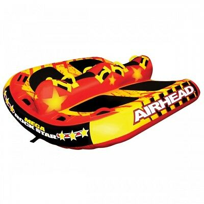 Airhead Mega Rock Star Towable Opblaasbare Ski Boot Buis