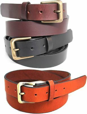 New Quality Genuine Full Grain Leather  Men's  Belt Australian Seller 41008