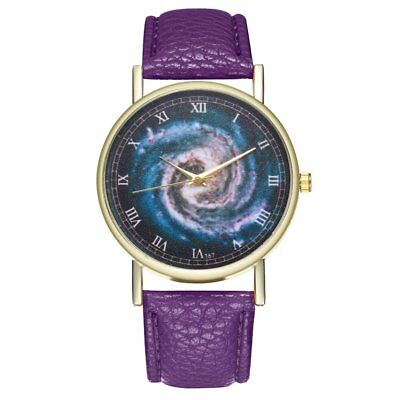 T67 Galaxy Leather Strap Quartz Fashion Watch LN
