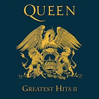 Queen  -  Greatest Hits Ii 2 (Remastered) [Cd] New & Sealed