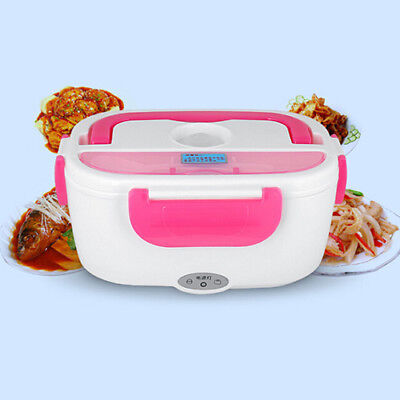 Portable Electric Heating Lunch Box Food Heater Picnic Travel Dorm Keep Warm