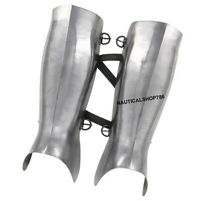 Armor Ancient Greek Hoplite Greaves Protective Medieval Functional Leg Guard