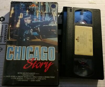 VHS CHICAGO STORY di Jerry Thorpe [MGM]
