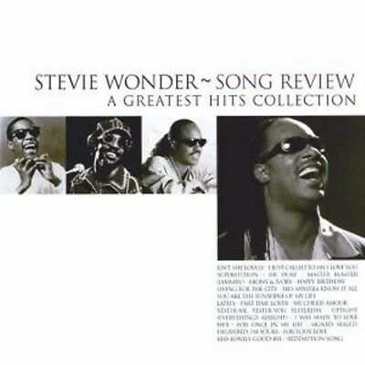 Stevie Wonder - Song Review - A Greatest Hits Collection CD NEU & OVP  Best Of