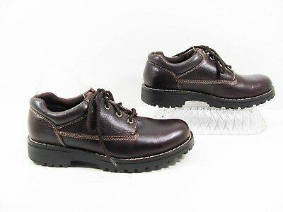 b505a38288 Bass Waterproof Men Brown Casual Work Oxford Shoe Size 9M EUR 43 Pre Owned