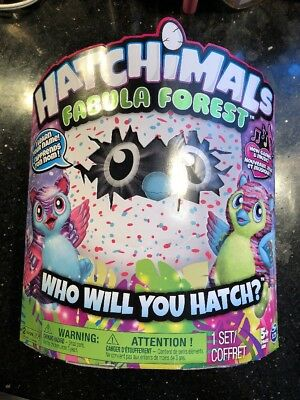 Hatchimals Fabula Forest Hatching Egg with Interactive Tigrette New Sealed