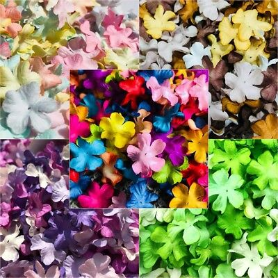 Flowers Mulberry paper for Craft & DIY Artificial Hydrangea Mini petal 20 mm.