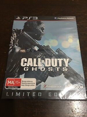 *SEALED* Playstation 3 PS3 Call of Duty Ghosts Limited Edition PAL