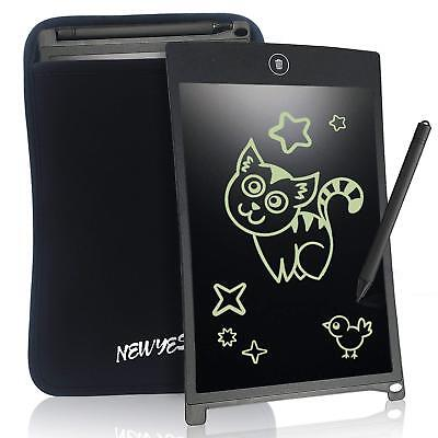 """8.5"""" LCD Kids Writing Tablet Digital Portable Touch Pad Message Drawing Board"""