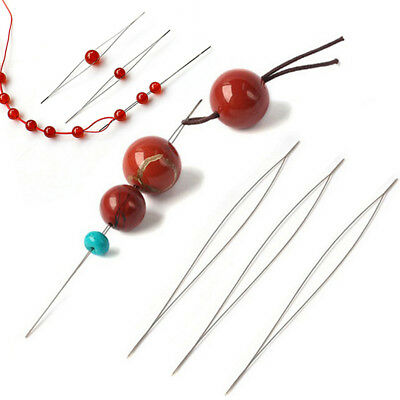 Open the Bead Needle DIY Supplies for Making Beads Handmade Pins Jewelry Tools B