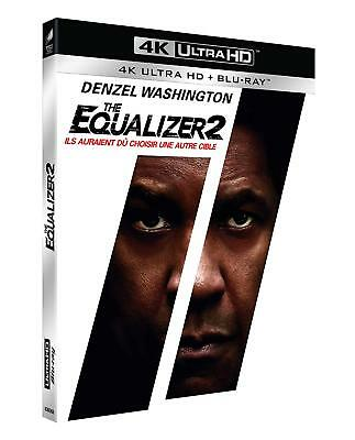 The Equalizer 2  Blu Ray  4K Ultra Hd + Blu Ray  Neuf Sous Cellophane
