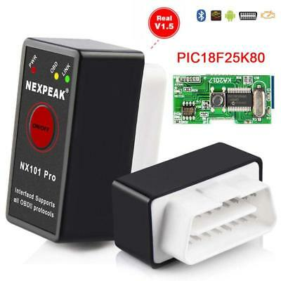 V1.5 Super ELM327 With Switch Bluetooth OBD-II OBD Can Code Reader For Android