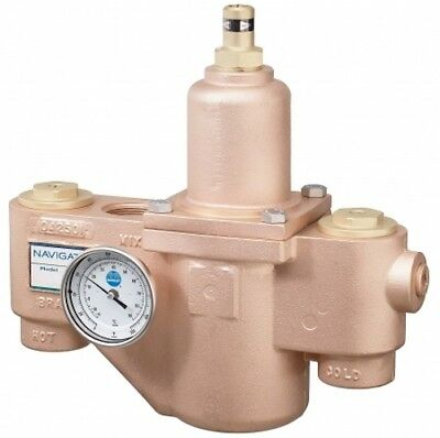 Bradley S59-3130 Navigator High/Low Thermostatic Mixing Valve, 130 GPM New